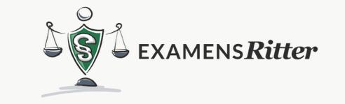 Examensritter - JURALERNPLAN Jura Lernplan Studium Studium