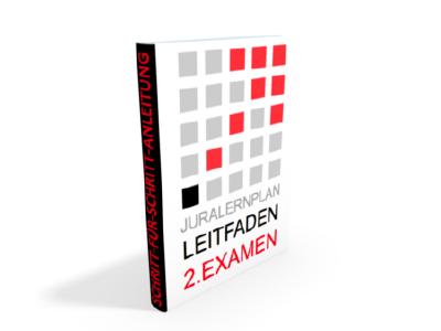 Produktbild 2. Examen - JURALERNPLAN Jura Lernplan Studium Examen